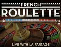 Auto French Roulette With La Partage